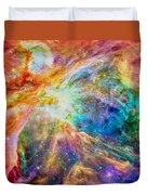 Orions Heart Rectangular Format Duvet Cover by Eti Reid
