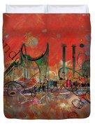 Orlando City Collage 2 Duvet Cover