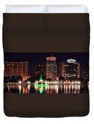 Orlando Panorama Duvet Cover