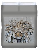 Ornamental Mask Duvet Cover