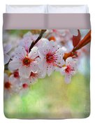 Ornamental Plum II Duvet Cover
