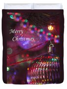 Ornaments-2052-merrychristmas Duvet Cover