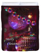 Ornaments-2054-merrychristmas Duvet Cover