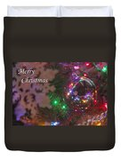 Ornaments-2096-merrychristmas Duvet Cover