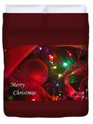 Ornaments-2107-merrychristmas Duvet Cover