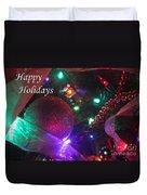 Ornaments-2130-happyholidays Duvet Cover