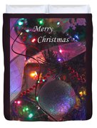Ornaments-2143-merrychristmas Duvet Cover
