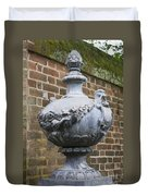 Ornate Garden Urn Duvet Cover