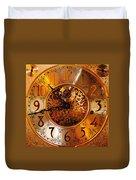 Ornate Timekeeper Duvet Cover