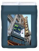 Orpheum Sign Duvet Cover