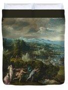 Orpheus And Eurydice Duvet Cover