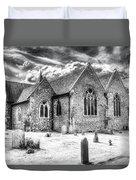 Orsett Church Essex England Duvet Cover