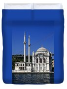 Ortakoy Mosque Duvet Cover