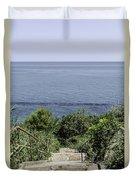 Italian Landscapes - Ortona Italy Duvet Cover