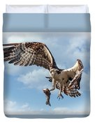 Osprey In The Clouds Duvet Cover