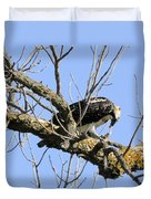 Osprey Meal Time Duvet Cover