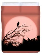 Osprey Moon Duvet Cover