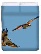 Osprey Pair Duvet Cover