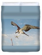 Osprey With Talons Extended Duvet Cover