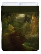 Ossian Conjuring Up The Spirits  Duvet Cover