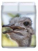 Ostrich Bokeh V2 Duvet Cover