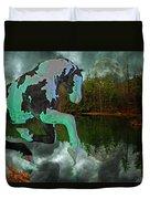 Otter Lake Phantom Duvet Cover