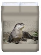 Otter North American  Duvet Cover