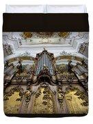 Ottobeuren Abbey Organ Duvet Cover
