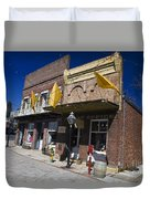 Otts Assay Office And The South Yuba Canal Building Nevada City California Duvet Cover