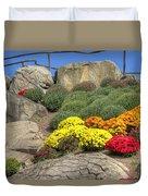 Ott's Greenhouse - Chrysanthemum Hill - Schwenksville - Pa Duvet Cover