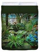 Ott's Greenhouse - Schwenksville - Pennsylvania - Usa Duvet Cover