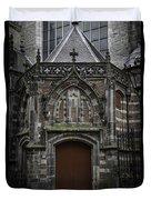 Oude Kerk Door Amsterdam Duvet Cover