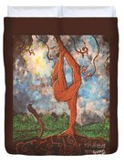 Our Dance With Nature Duvet Cover
