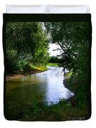 Our Fishing Hole Duvet Cover