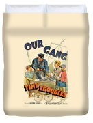 Our Gang Vintage Movie Poster 1930s Duvet Cover