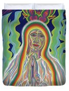 Our Lady Of Fatima 2012 Duvet Cover