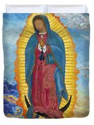 Our Lady Of Guadalupe-new Dawn Duvet Cover by Mark Robbins
