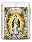 Our Lady Of Guadelupe 1848 Duvet Cover