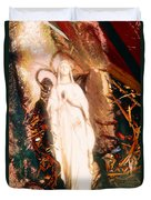 Our Lady Of Lourdes Duvet Cover
