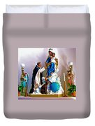Our Lady Of Peace Duvet Cover by Karon Melillo DeVega