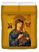 Our Mother Of Perpetual Help Rome Duvet Cover