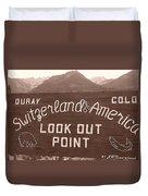 Ouray Colorado Duvet Cover