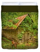 Out Back Duvet Cover by Priscilla Burgers