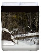 Out By The Roots Duvet Cover
