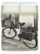 Out For A Ride Duvet Cover