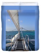 Out For A Sail Duvet Cover