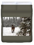 Out For A Walk Duvet Cover