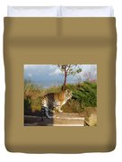 Out Of Africa  Tiger 1 Duvet Cover