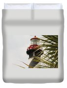 Out Of Focus Lighthouse Duvet Cover