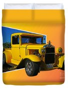 Out Of Picture Ford Duvet Cover